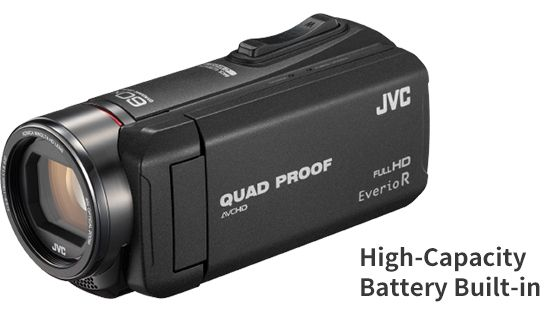 Camera video JVC Evorio Quad-Proof RX GZ-RX615BEU, Full HD – teste si preturi